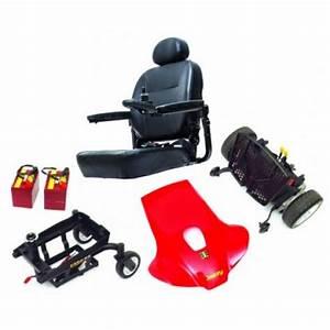Pride Jazzy Elite Es Portable Power Wheelchair