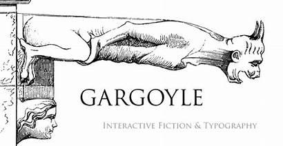Gargoyle Gargoyles Interactive Fiction Grotesques Forness Baron