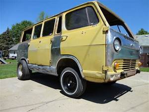 1965 Chevy Van Panel Hot Rat Rod Gasser Vw Bus Rockabilly