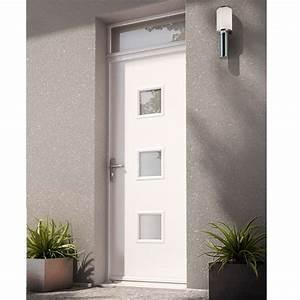 porte d39entree nelia ton blanc idees de porte d39entree With porte de garage enroulable et porte intérieure contemporaine prix