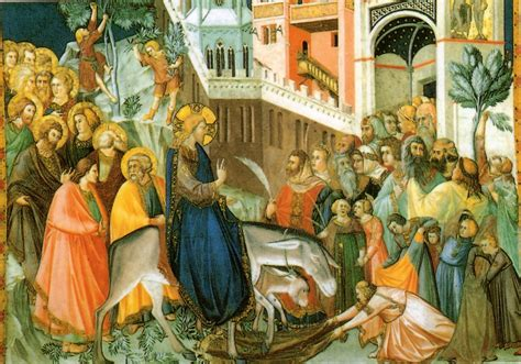 ingresso di gesù a gerusalemme elioarte assisi viaggio in umbria