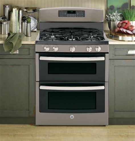 jgbeefes ge   standing gas double oven range