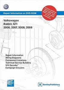 Vw Gti  Rabbit Repair Manual 2006
