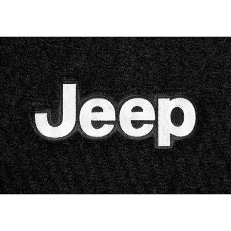 jeep wrangler logo lloyd mats jw2f wrangler jk front floor mat carpeted black