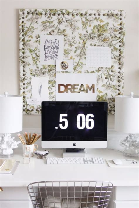 17 Exceptional Diy Home Office Decor Ideas With Tutorials