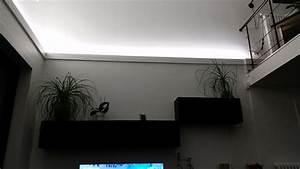 Eclairage Indirect Plafond : deco led eclairage id es d co pour les salons ~ Melissatoandfro.com Idées de Décoration