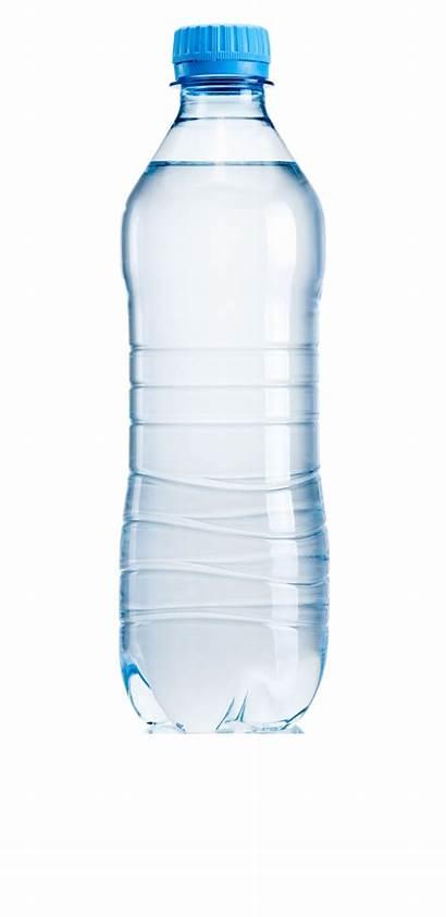 Bottle Water Mineral Clipart Transparent Eau Bottles