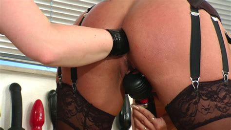 Assstretching and assfisting rimming anal licking