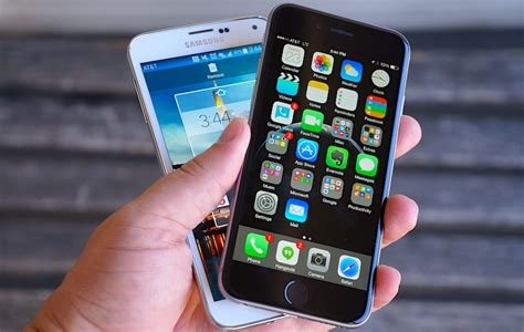 iphone vs galaxy iphone 6 vs galaxy s5 no common ground pocketnow