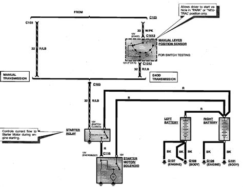 1994 Dodge Up Wiring Diagram by 1994 Ford F350 Diesel Starter Relay Wiring Someone Wired