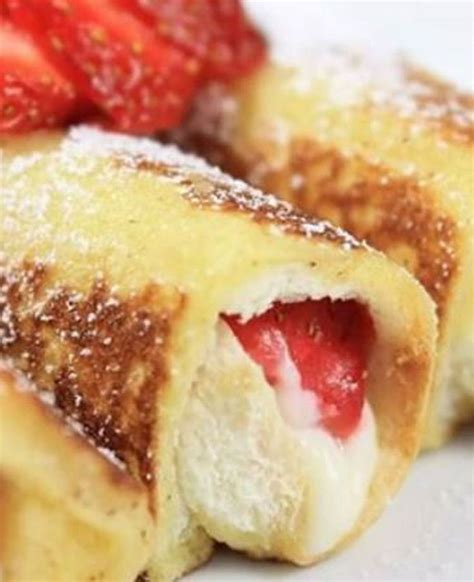 what can i make with strawberries what can you make with strawberries french toast and cream cheese french toast rolls cream