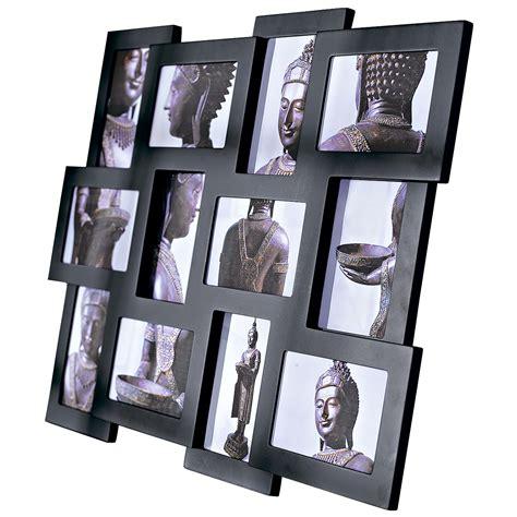 Bilderrahmen Für Collagen by Bilderrahmen Collage Schwarz F 252 R 12 Fotos 10x15 Neu Ebay