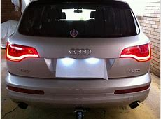 Q7 2011 tail lights retrofit AudiWorld Forums