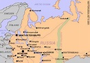 Getting to / from Novgorod: train timetables, prices, map ...