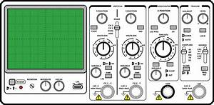 File Oscilloscope Front Panel Svg