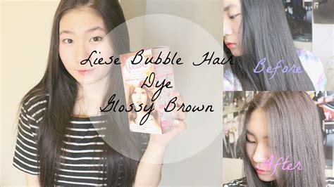 Glossy Black Hair Color by Liese Hair Colour Glossy Brown Y