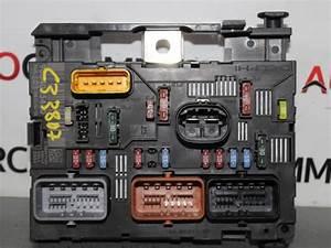 Used Citroen C3  Fc  Fl  Ft  1 4 Hdi Fuse Box