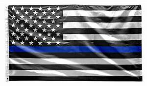Thin Blue Line American Flag (Police)