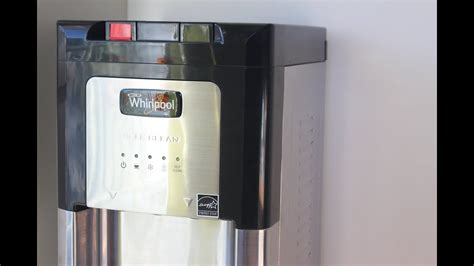Whirlpool Stainless Steel Self Cleaning Water Dispenser