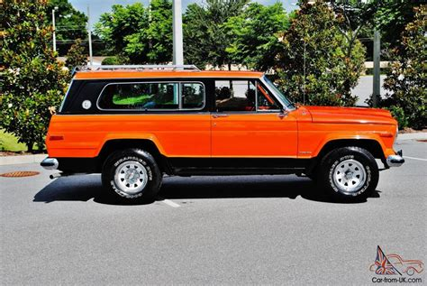 original jeep cherokee this is all original cheif 1978 jeep cherokee 4x4 from