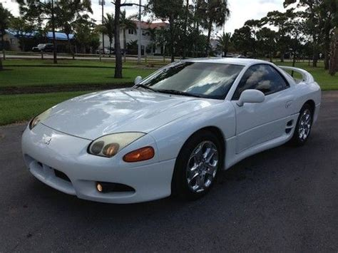 automotive air conditioning repair 1997 mitsubishi gto parking system find used 1997 mitsubishi 3000gt one owner clean autocheck