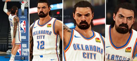 NBA 2K21 Steven Adams Cyberface and Body Model by Aid ...