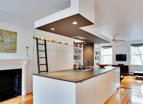 sortie de toit hotte de cuisine rénover et décorer avec des faux plafonds habitatpresto
