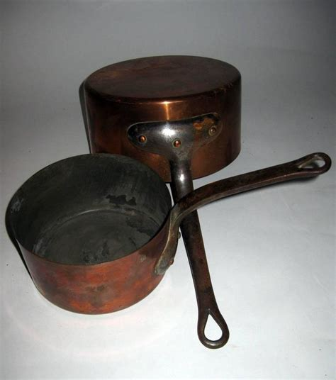 century french copper sauce pans  sale  stdibs