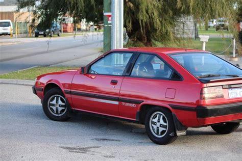 mitsubishi cordia for sale 80shero red early cordia turbo