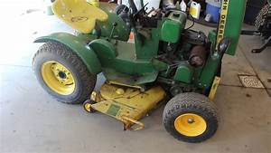 1967 John Deere 110 Project  Part 1
