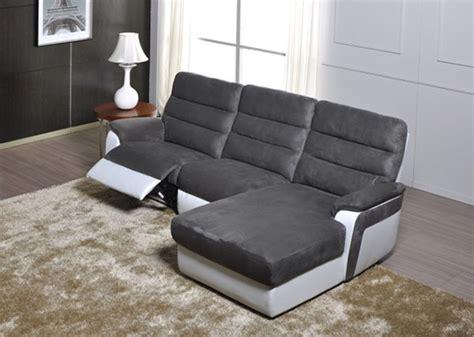 canapes relax canapé d 39 angle droit relax electrique biaritz aruba gris