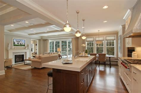 Kitchen Living Room Open Floor Plan Pictures by Guest Post Decorating Tips For Wide Open Spaces A