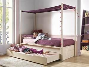 Acheter Un Lit : o acheter un lit gigogne chambre sophia pinterest ~ Carolinahurricanesstore.com Idées de Décoration