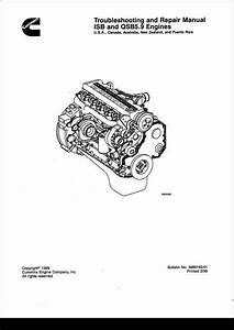 Cummins Isb And Qsb5 9 Engines Service Repair Manual