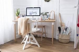 Idée Déco Bureau Maison : mon p tit chez moi d co du bureau carnet prune blog ~ Zukunftsfamilie.com Idées de Décoration