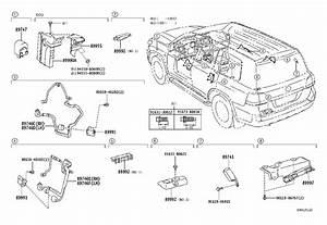 Toyota Land Cruiser Door Wiring Harness