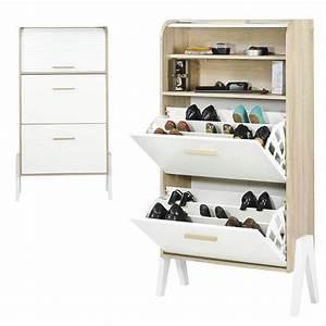commode chaussures meuble a chaussures amandine amadeus With amazing meuble chaussure avec banc 3 meuble chaussure longueur 100 cm