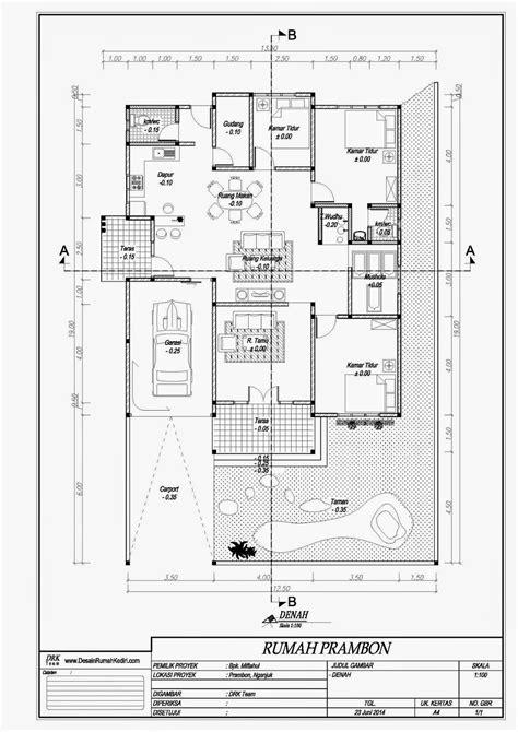 lt  rumah minimalis  lantai prambon nganjuk jasa