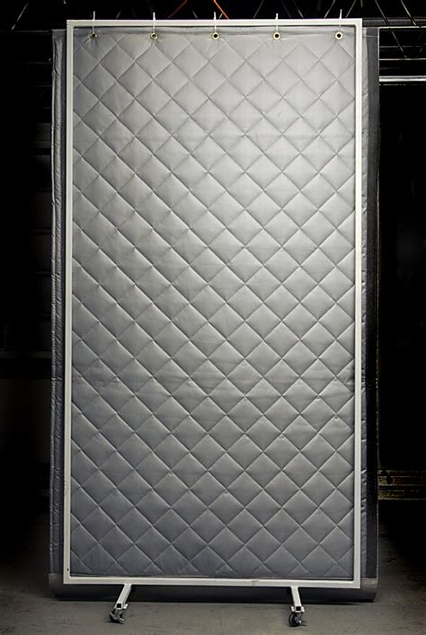 industrial soundproofing curtains noise cancelling barriers
