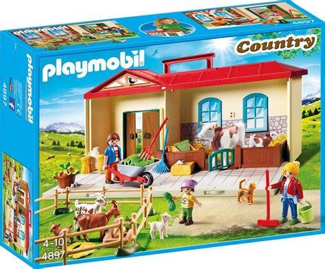 ferme transportable playmobil playmobil 174 mitnehm bauernhof 4897 187 country 171 otto