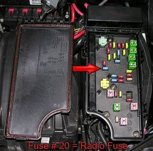 2008 Dodge Avenger Fuse Box
