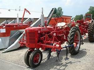 Farmall Super C With Cultivators