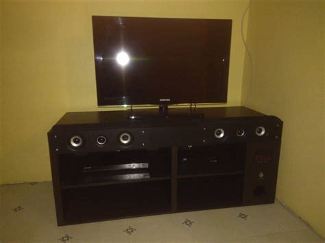 Tv Unit With Built In Home Theater Surround Sound
