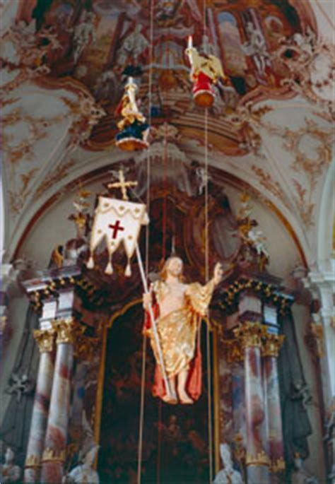 """Als hochfest wird die """"ascensio domini bzw. Christi Himmelfahrt"""