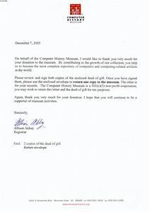 sample letter memorial donation sample business letter With donation made in memory of letter
