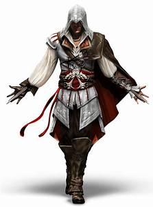 Ezio Auditore da Firenze from Assassin's Creed - Game Art