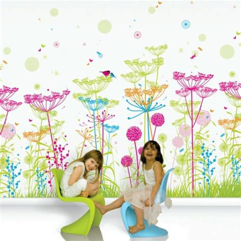 Wandgestaltung Kinderzimmer Häuser by Kinderzimmer Tapeten Farbige Ideen F 252 R Ihr Interieur