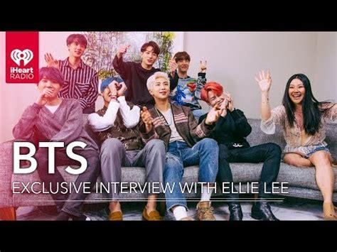 bts interview  iheartradio  kpop