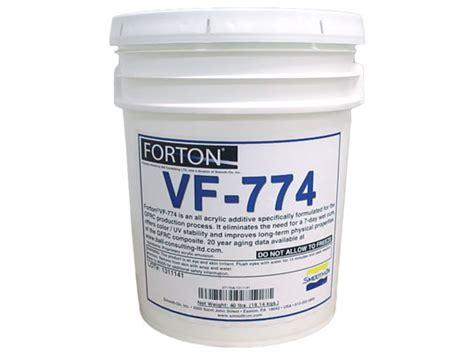 k shop vf forton vf 744 coast fiber tek products ltd