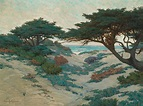 Carmel Coast Painting by Granville Redmond